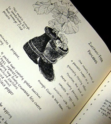 Zucchini Feta Pancakes–Moosewood Challenge #2