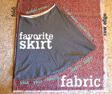 The Great Pattern-less Skirt