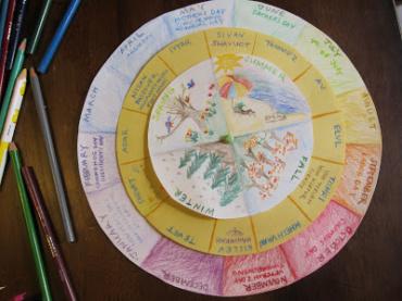 Circular Perpetual Calendar