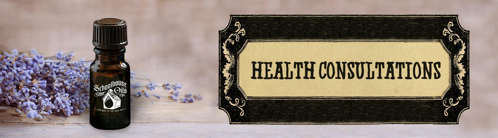 Essential Oils health consultations