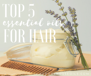 Top 5 Essential Oils for HairCare + Recipe